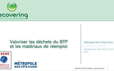 Formation à l'économie circulaire des déchets du BTP